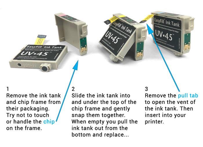 EasyFill inks for Epson Claria printers